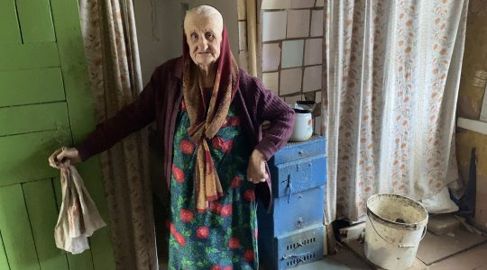 belarus Lyubov Arkhiptsova-Volchek stands at her home in Hlusk, Belarus in March 2021. (From the Depths)