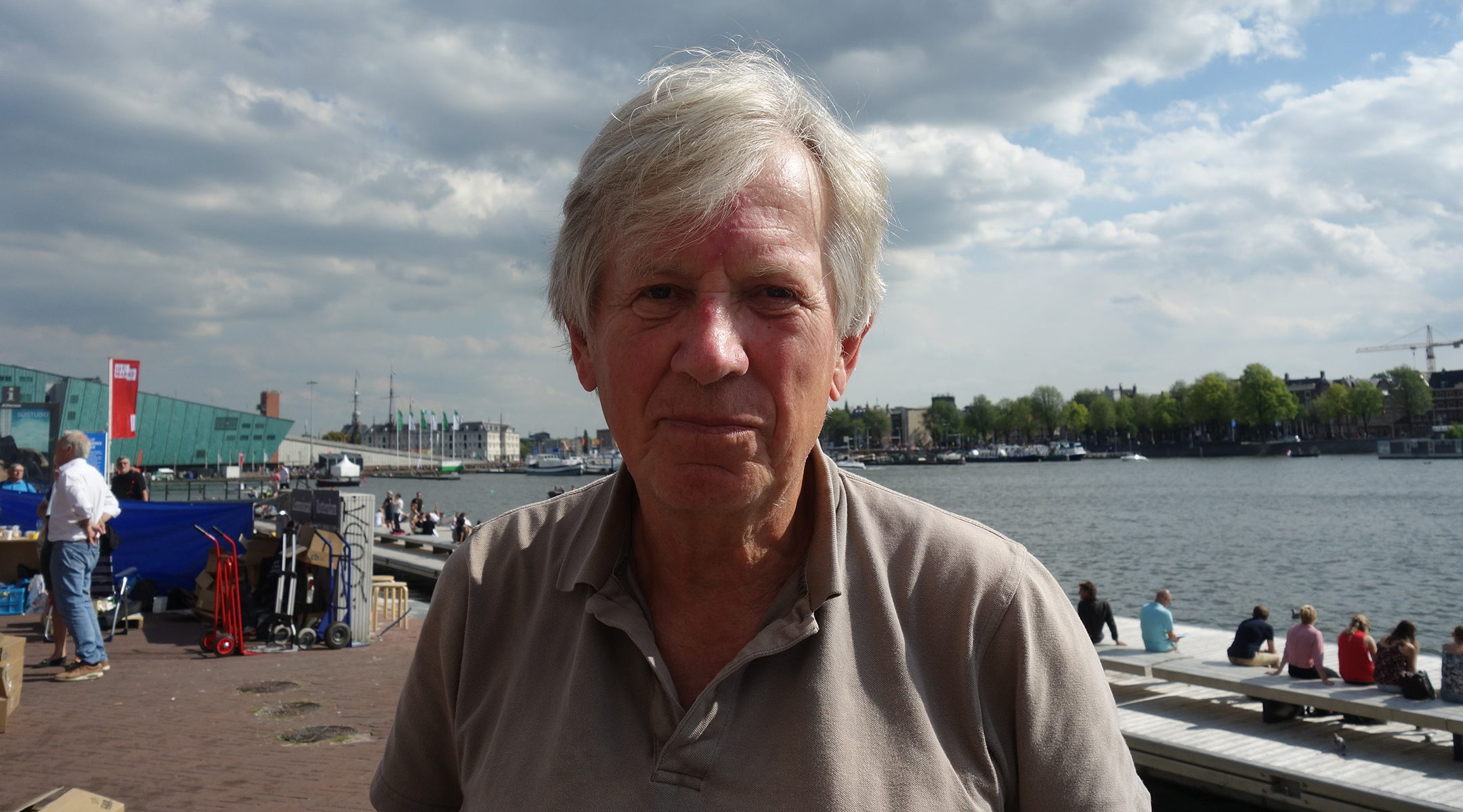 Hans Achterhuis in Amsterdam on August 27, 2017. (Wikimedia Commmons)