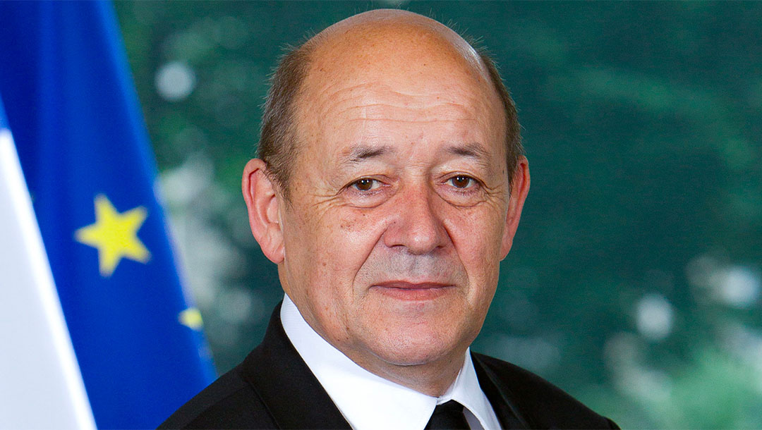 French Foreign Minister Jean-Yves le Drian. (The French Foreign Ministry)