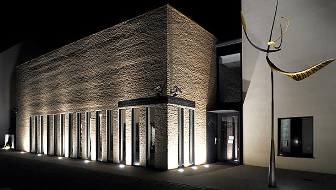 The synagogue in Gelsenkirchen, Germany. (Courtesy of the City of Gelsenkirchen)