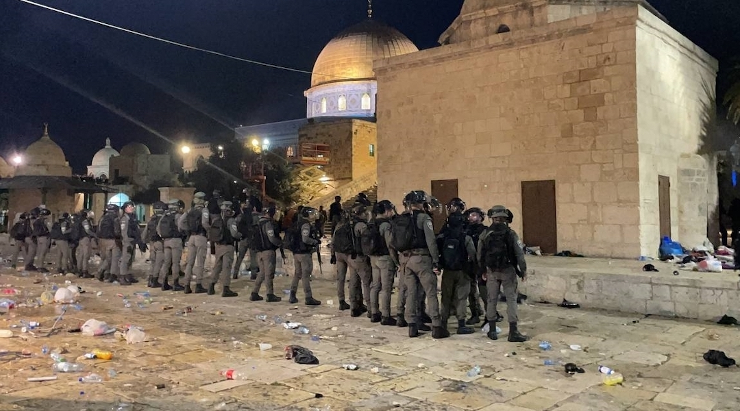 Violence rages in West Bank and Jerusalem, as dozens are injured in police clashes and...