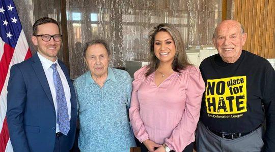 Supports of Arizona's Holocaust education bill