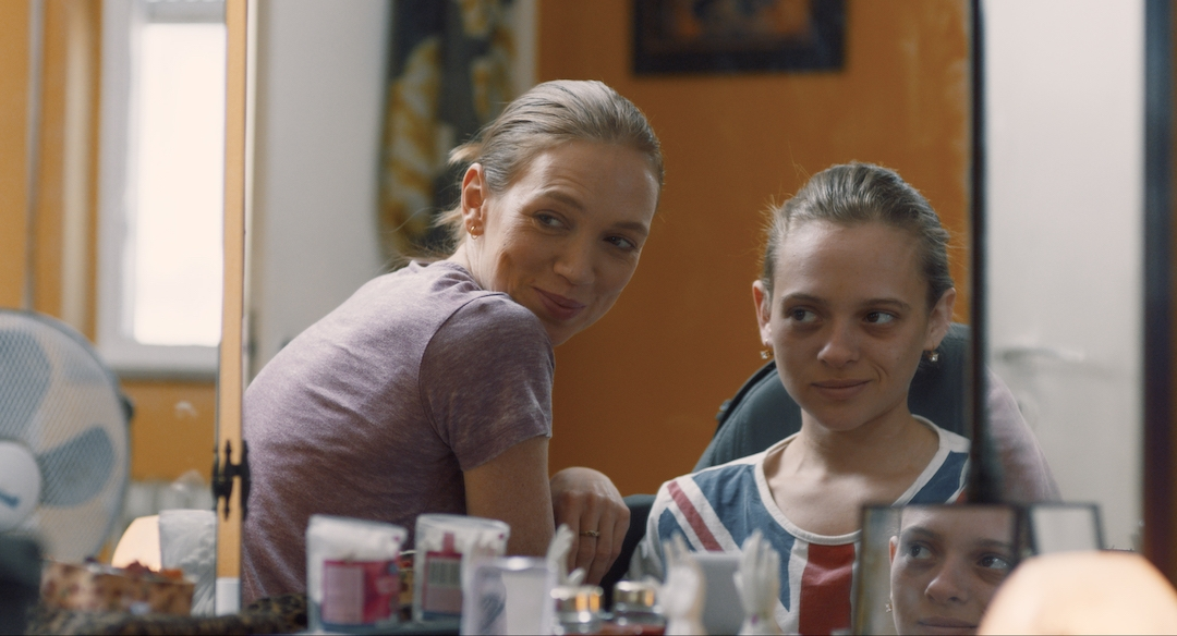 """Alena Yiv and Shira Haas in """"Asia"""""""