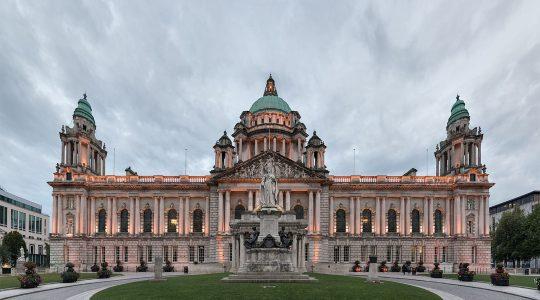 The city hall of Belfast, UK. (Giorgio Galeotti/Wikimedia Commons)