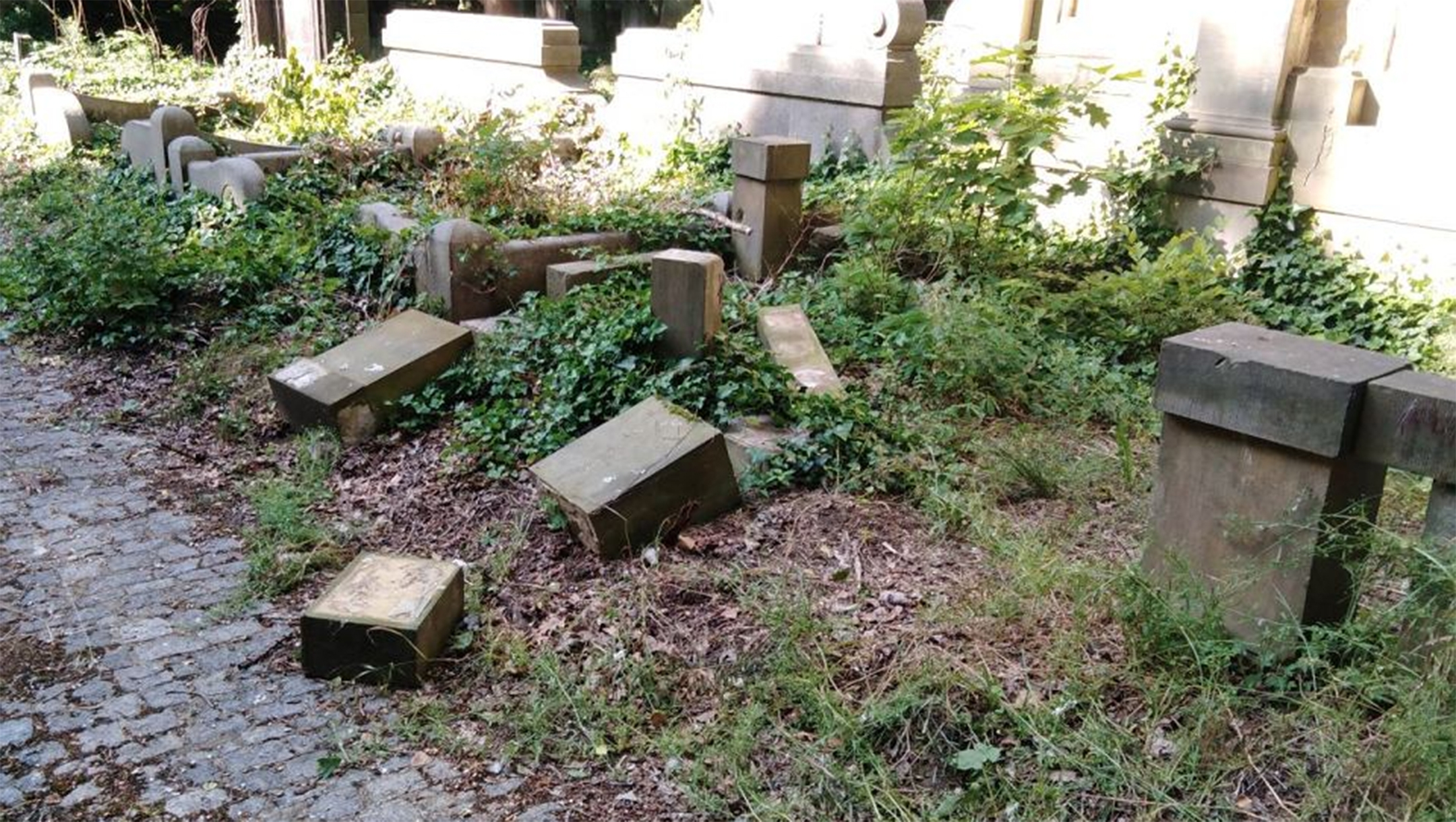 Polish schoolchildren destroyed dozens of Jewish headstones. They said they wanted to build a fortress.