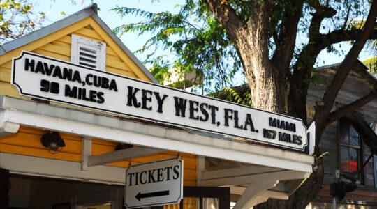 Key West, Florida sign