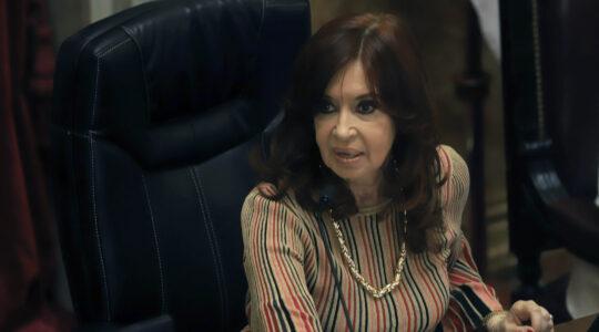 Argentine Vice President Cristina Fernandez de Kirchner
