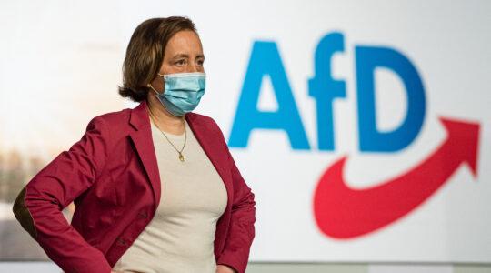 Alternative for Germany (AfD) deputy leader Beatrix von Storch