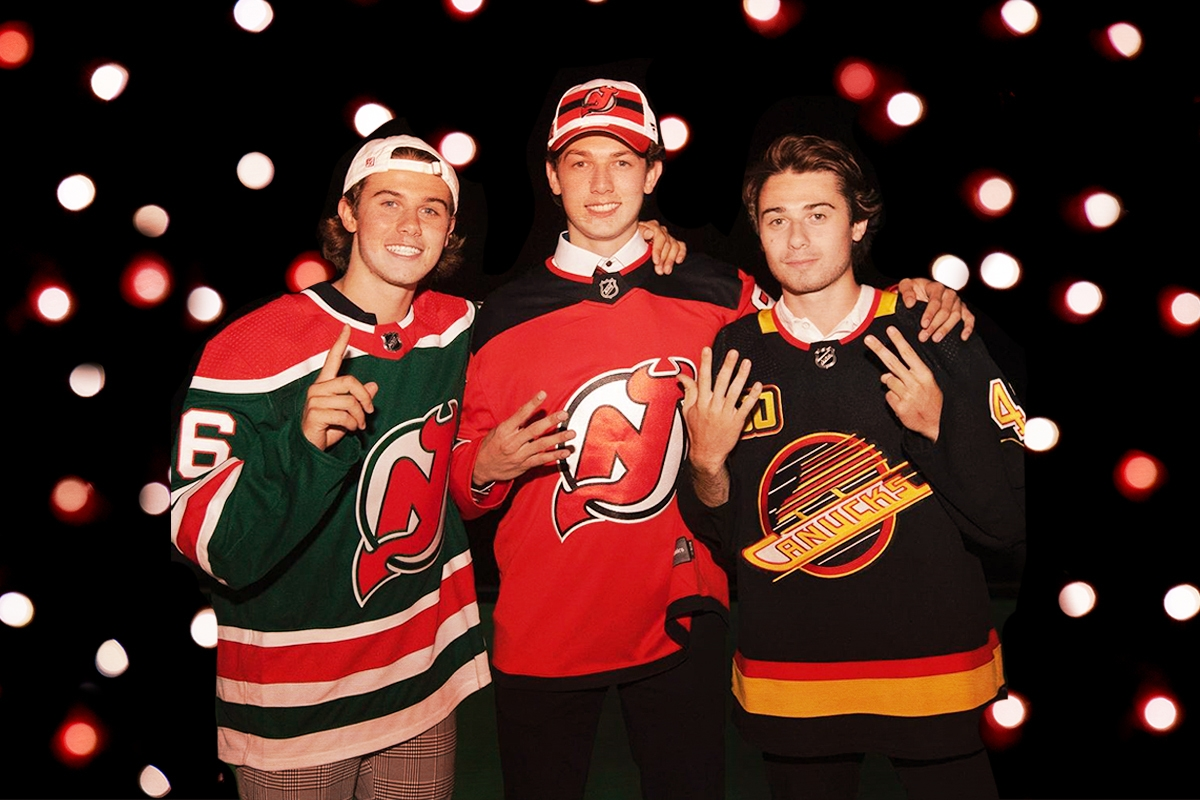 These 3 hockey-playing Jewish brothers just made NHL history