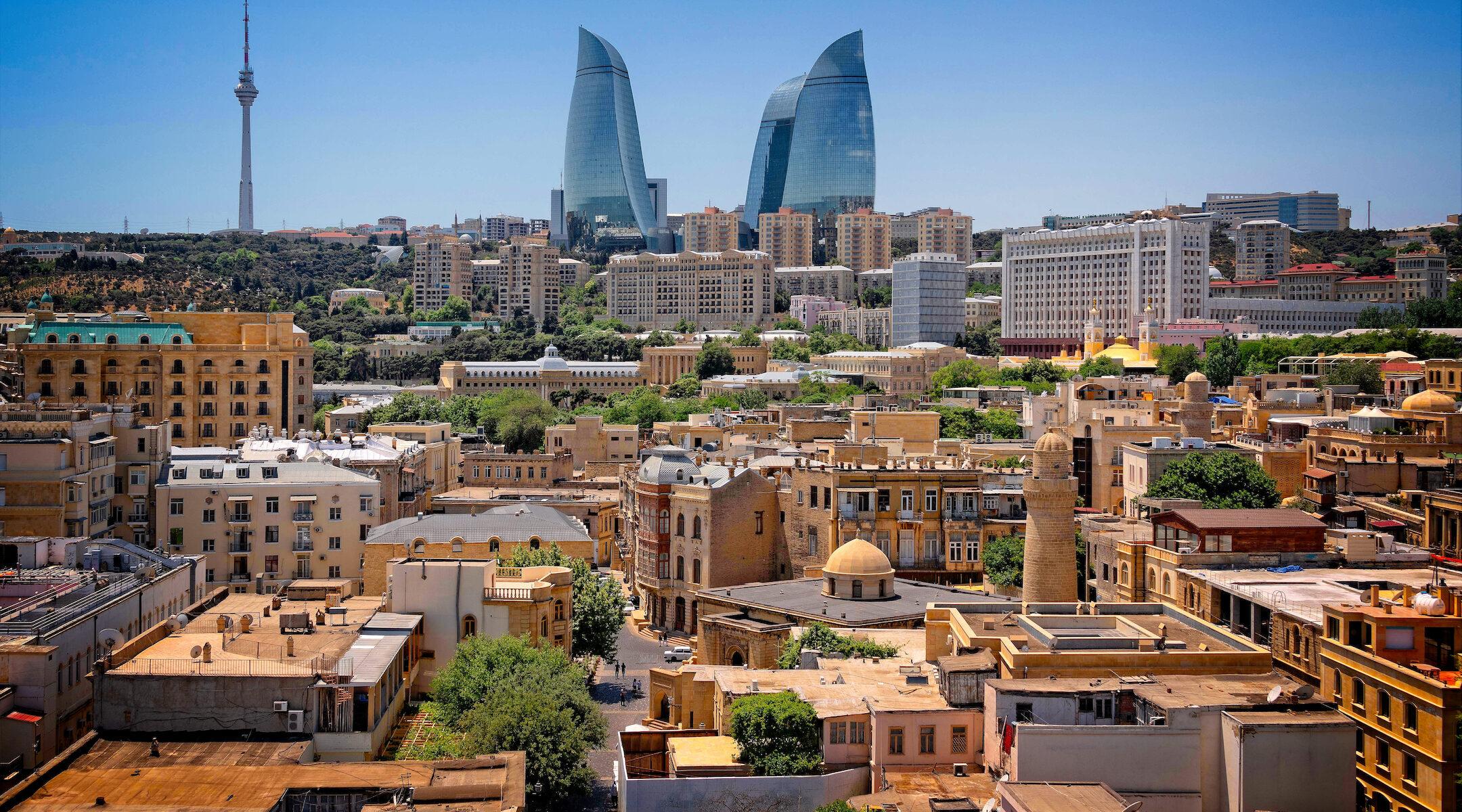 Baku, capital of Azerbaijan