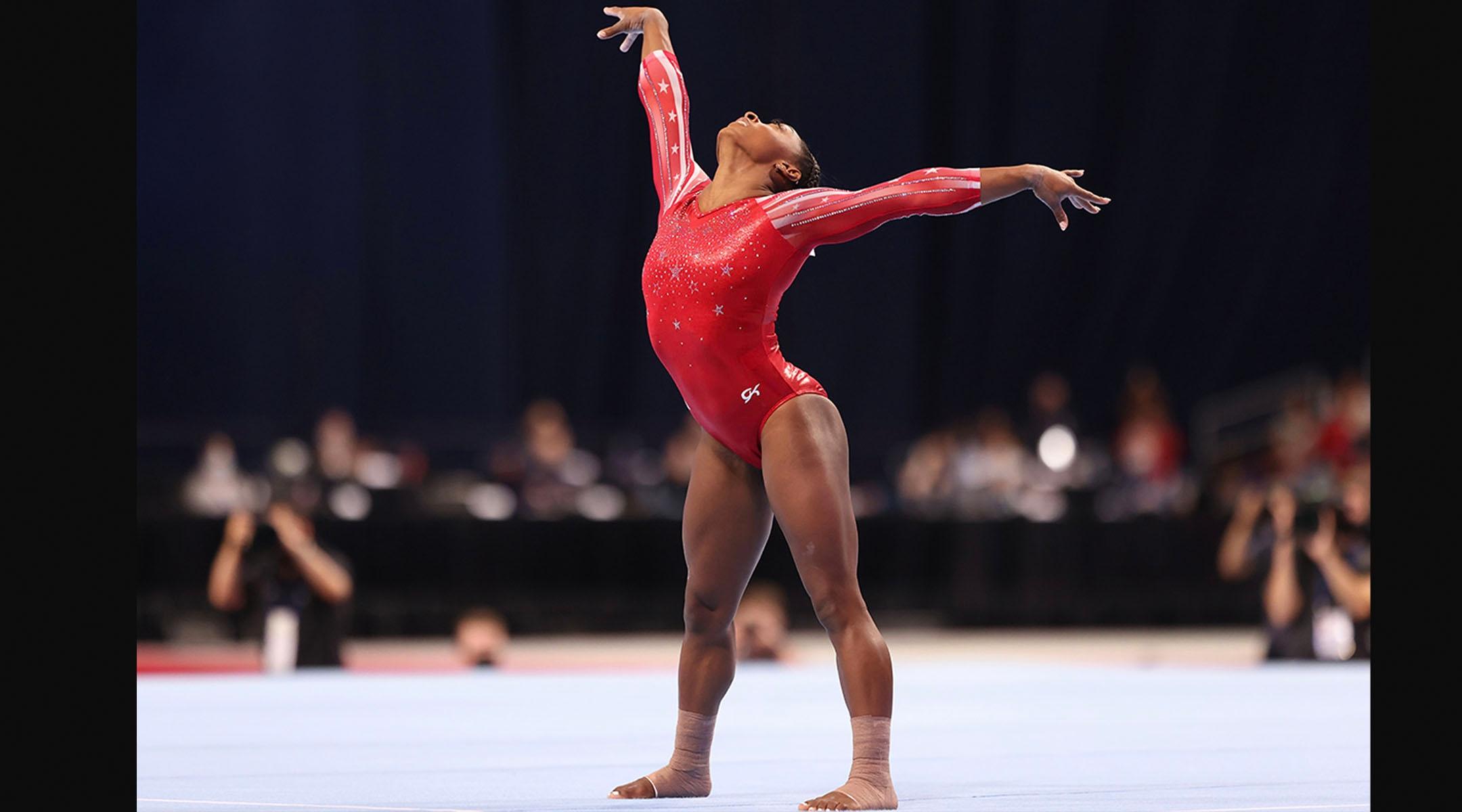 Meet the Jewish dancer choreographing Simone Biles' Olympic floor routine