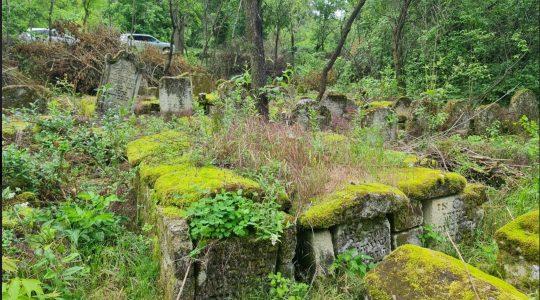 The Jewish cemetery of Rascov, Transnistria. (Courtesy of Rabbi Pinchas Zaltsman)