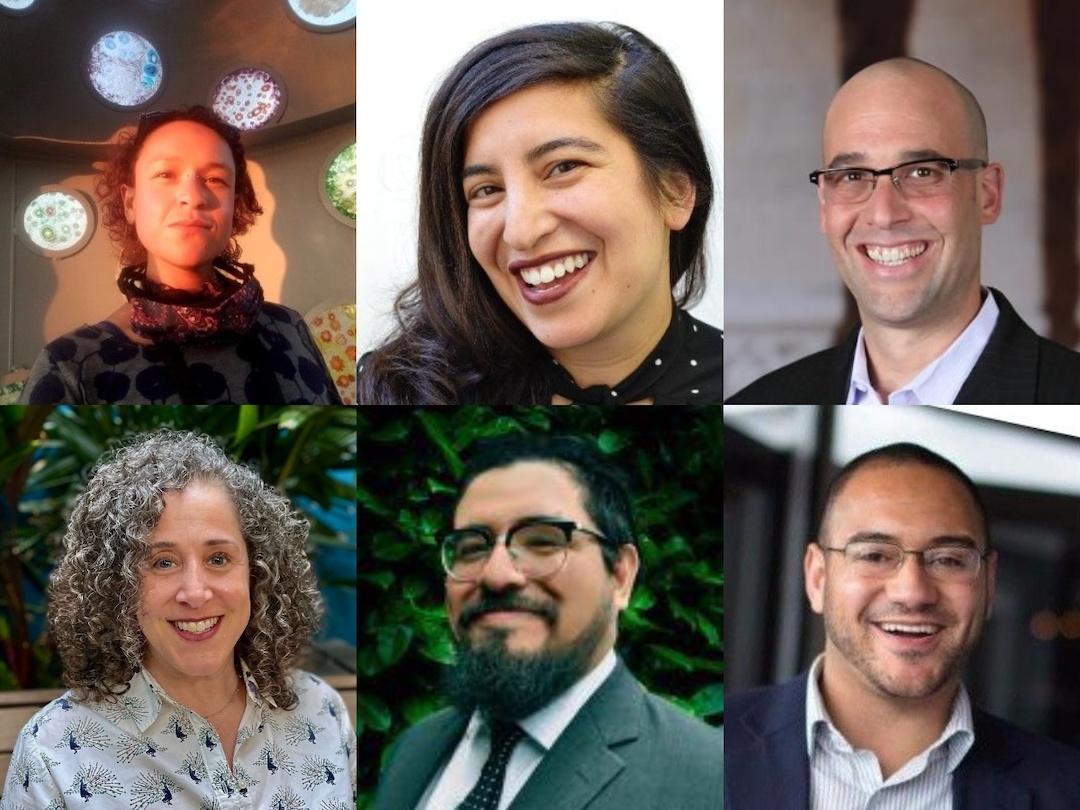 Headshots of researchers