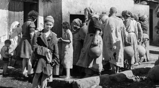 Jews in Marrakesh in 1946