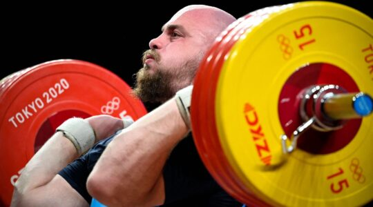 Israel weightlifter olympics