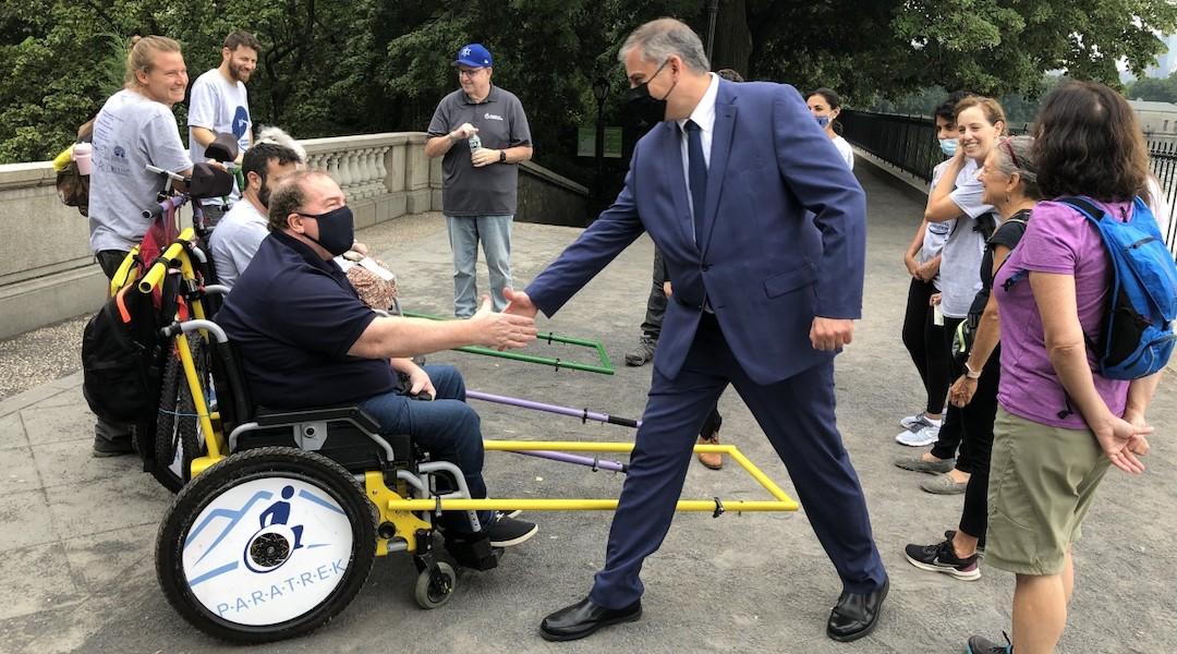 Central Park Israelis disabilities