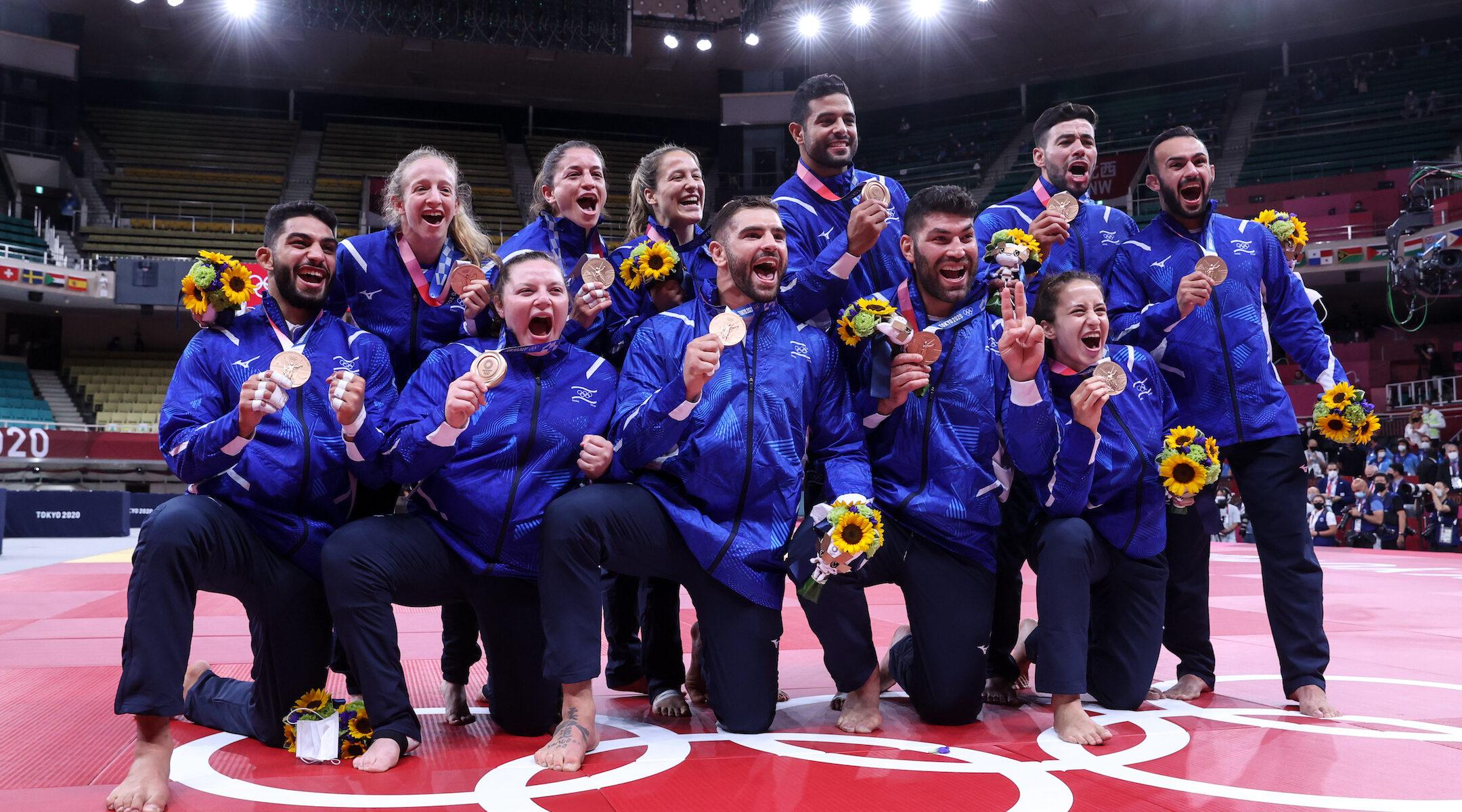 Israeli judokas