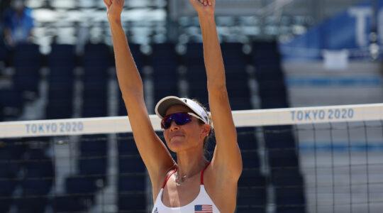 Alix Klineman beach volleyball Olympic gold medal