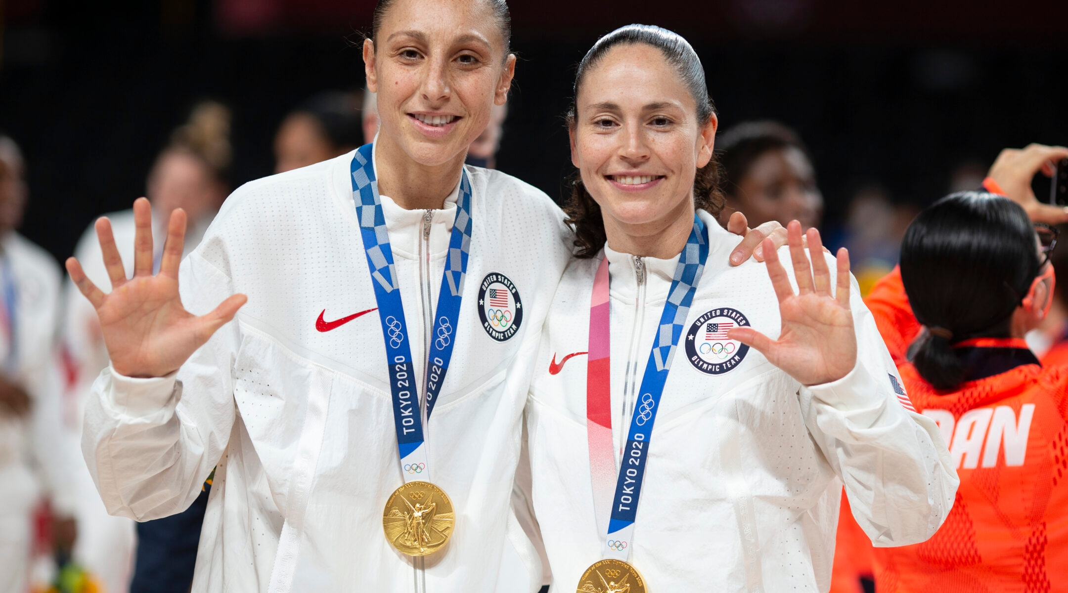 Sue Bird Olympic gold medal in basketball