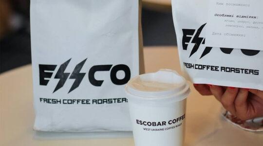 Cafe Escobar's new font. (Cafe Escobar)