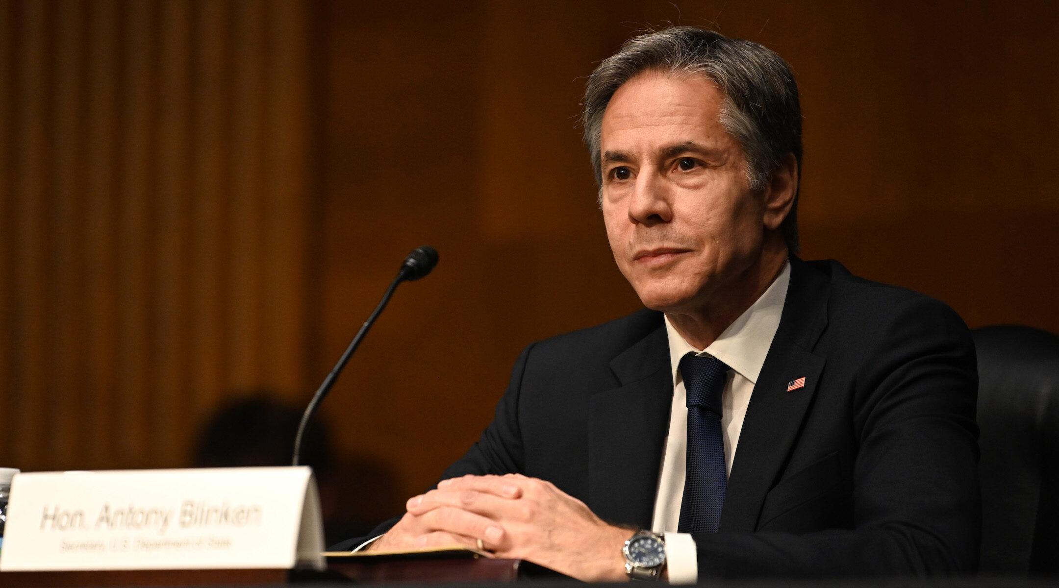 U.S. Secretary of State Anthony Blinken