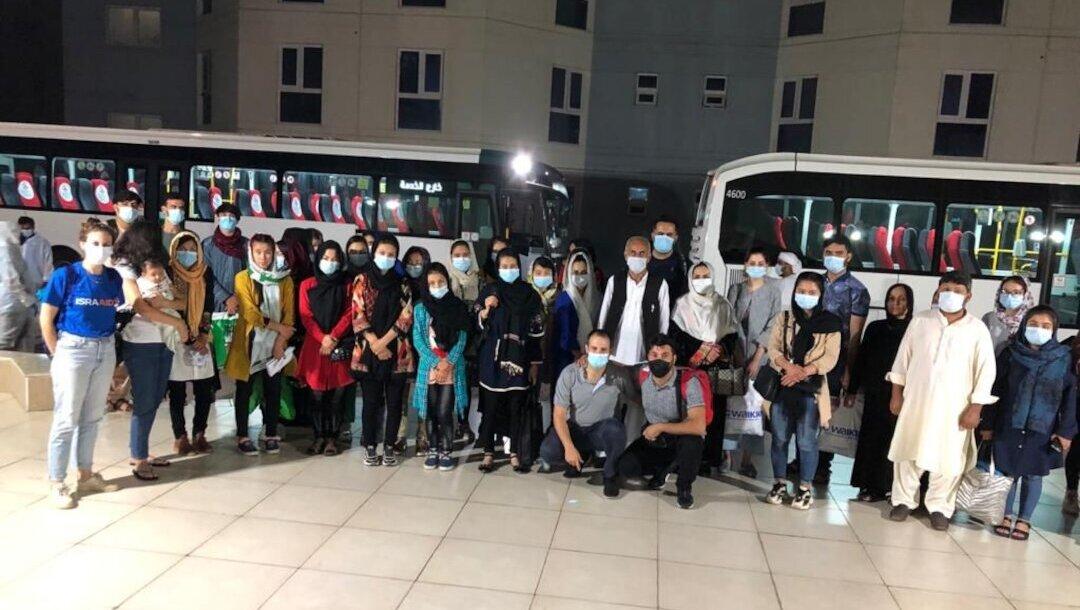 Israeli philanthropists help dozens flee Afghanistan for United Arab Emirates