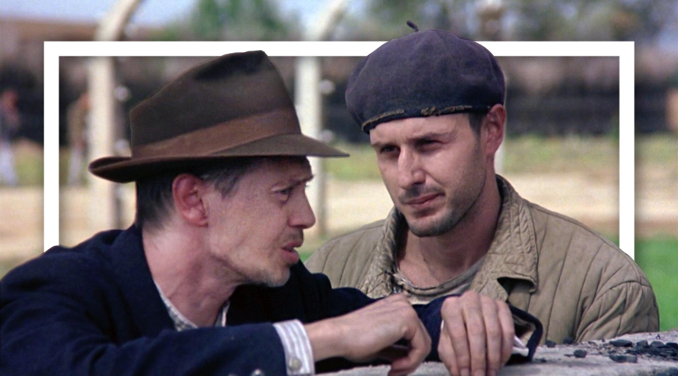 "Steve Buscemi and David Arquette in ""The Grey Zone"""