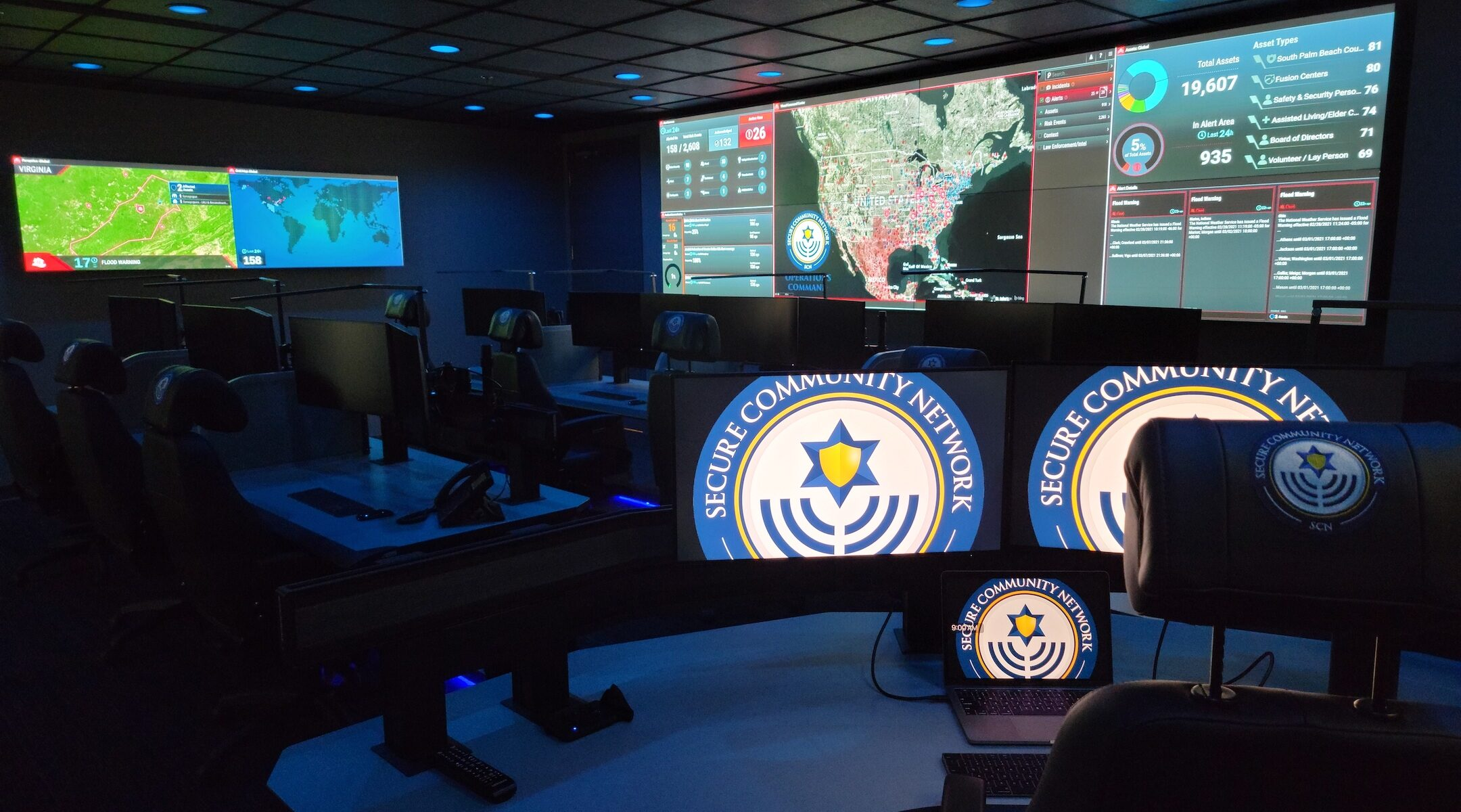 secure community network command center