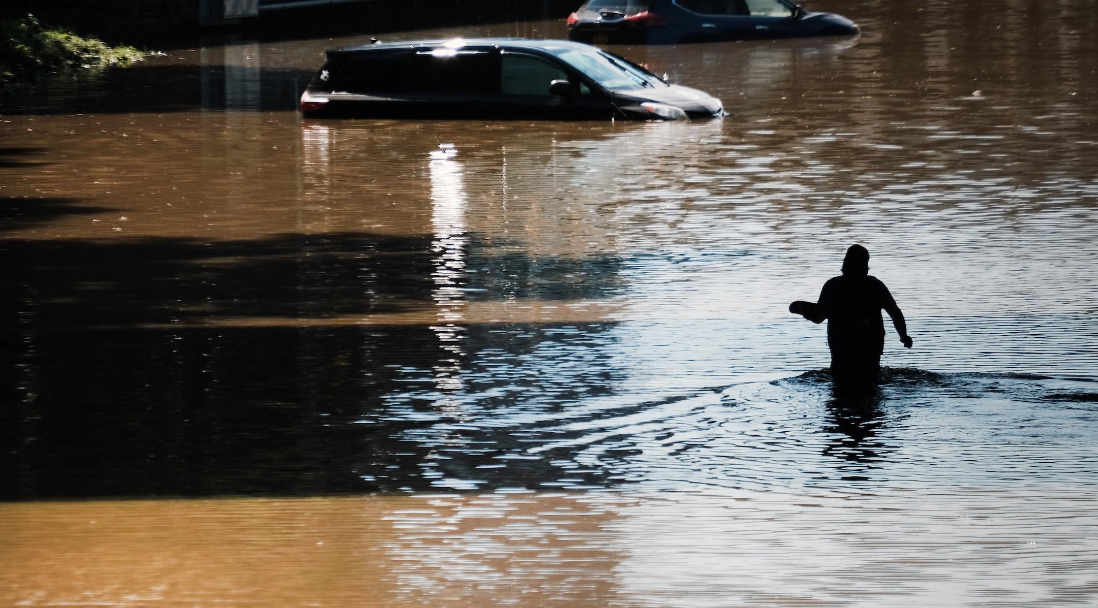 Hurricane Ida flooding The Bronx