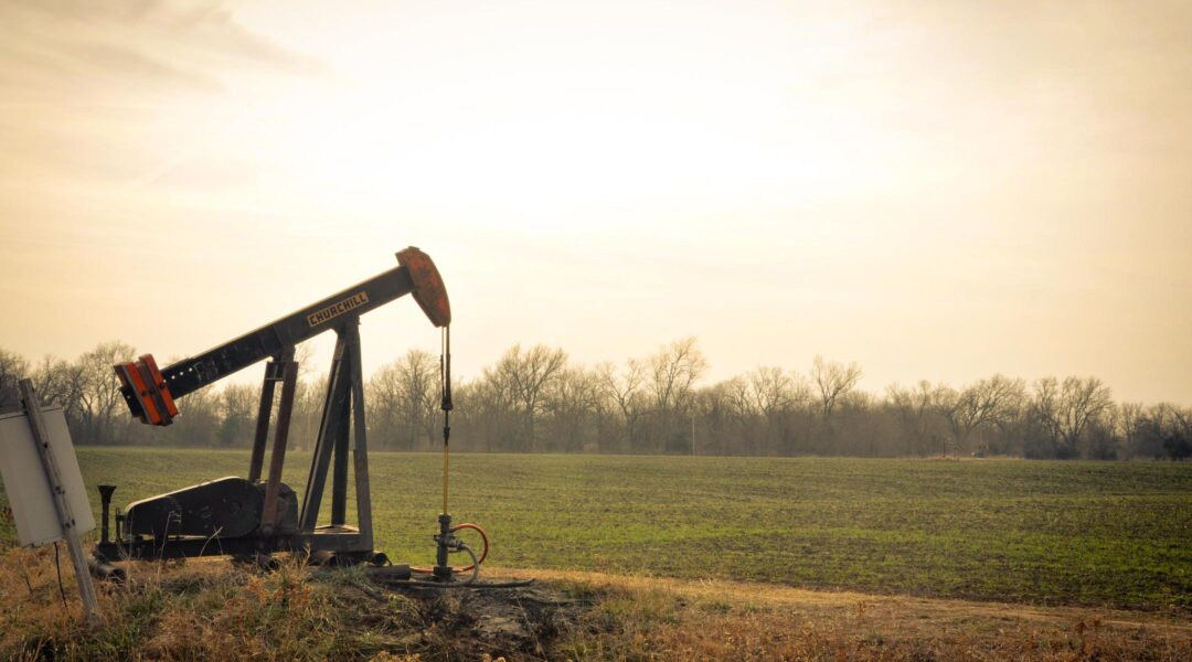 oil derrick Oklahoma