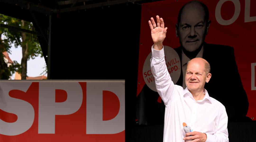 German politician Olaf Scholz