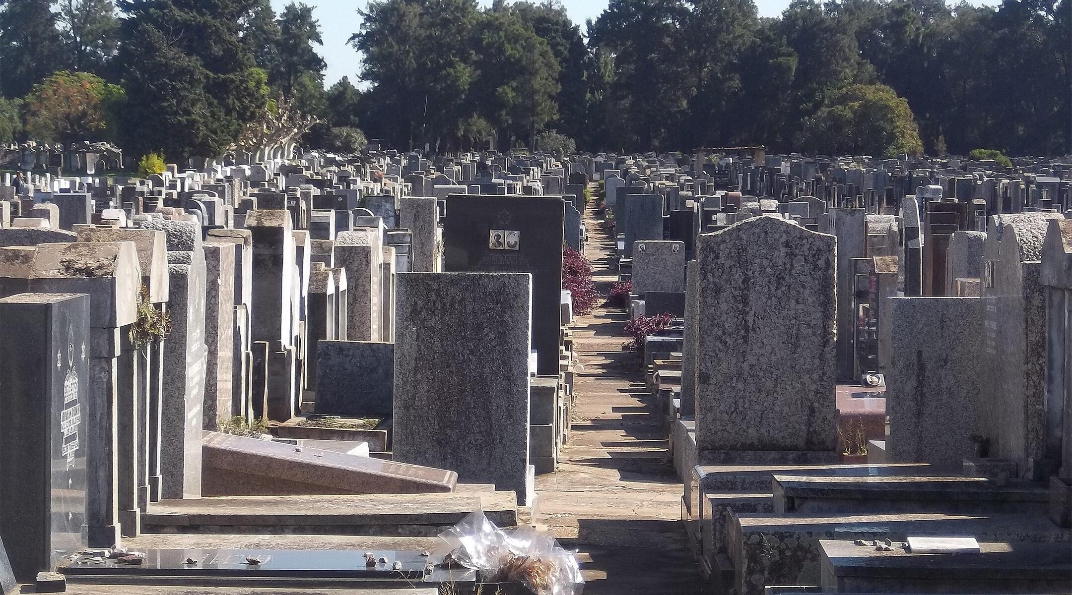 The Jewish cemetery of La Tablada in Buenos Aires, Argentina, pictured in 2013. (Wikimedia Commons/Dario Alpern)