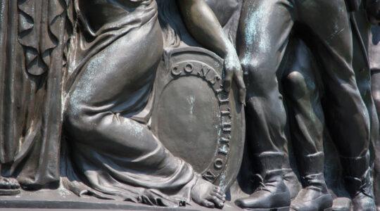 Confederate statue constitution