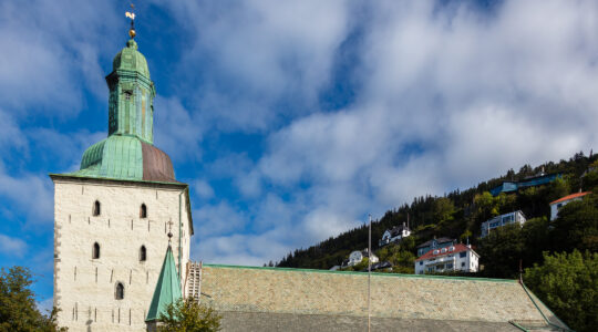 The Cathedral of Bergen, Norway. (Wikimedia Commons / Diego Delso)