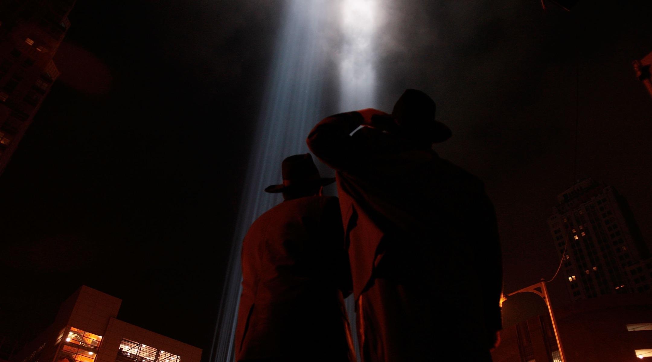 orthodox jewish men at ground zero