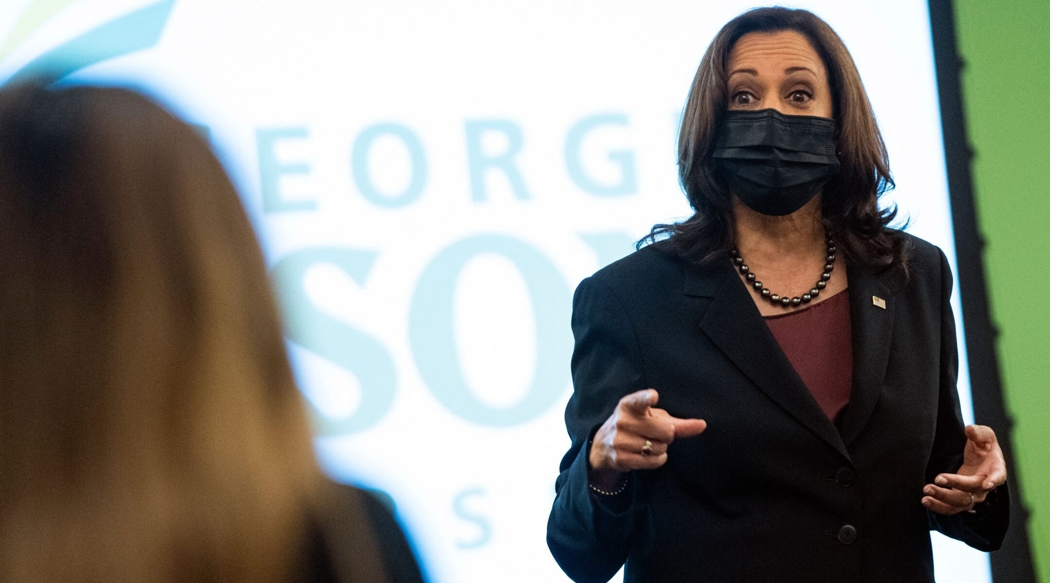 Kamala Harris' office forced into damage control mode after student accuses Israel of 'ethnic genocide'