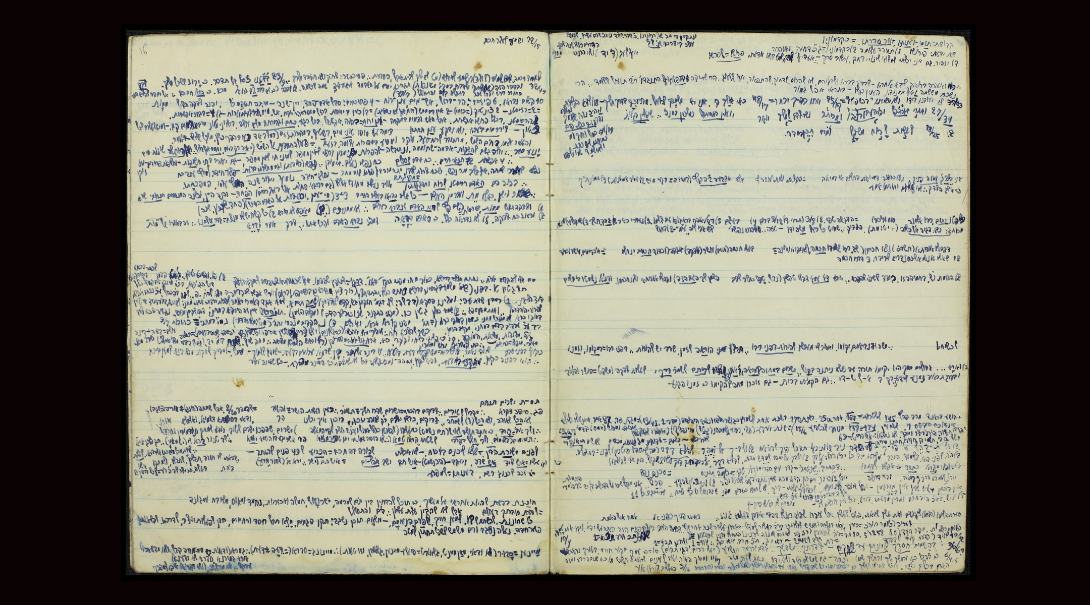 Israel's National Library to display notebooks of mysterious scholar who taught Elie Wiesel, Emmanuel Levinas