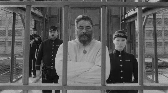 Benicio del Toro and Léa Seydoux in The French Dispatch