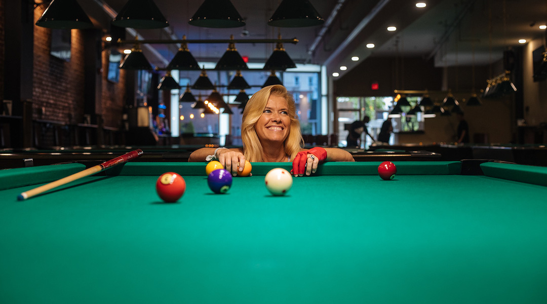 Billiards legend JoAnn Mason Parker is in a Jewish Sports Hall of Fame — now...