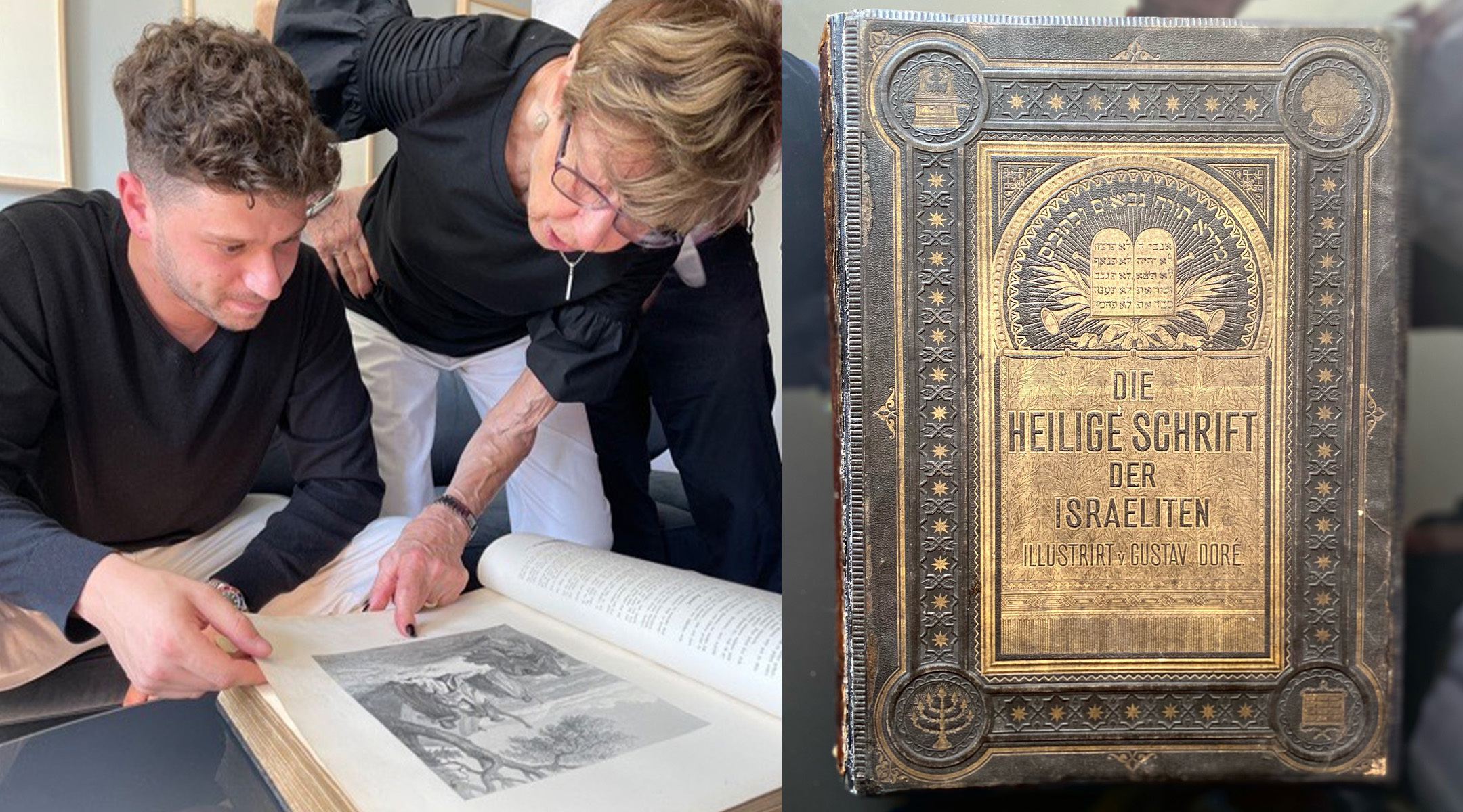 A New York family is reunited with an heirloom Bible thought lost in the Holocaust